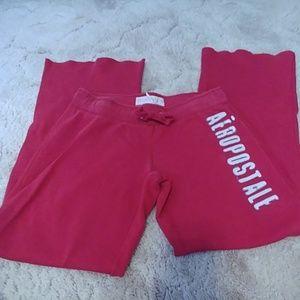 Aeropostale red sweatpants